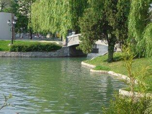 езерото Ариана в Борисовата градина
