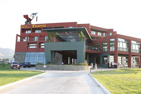 Park i SPA hotel Ekzotik