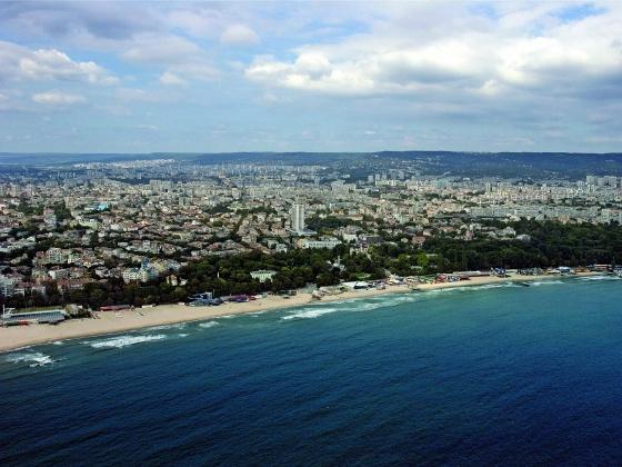 Панорамен изглед на Варна