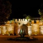 Крепостта Калето през нощта