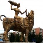 Статуя на Богинята Европа