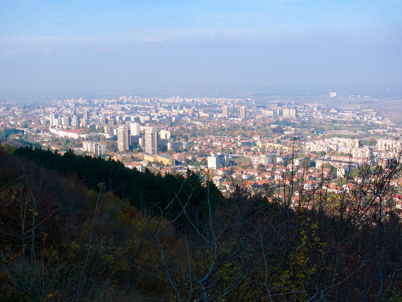 изглед към Враца