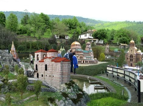 Bulgaria na dlan - maketi na otkrito